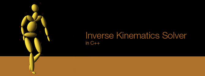 Inverse Kinematics Solver in C++